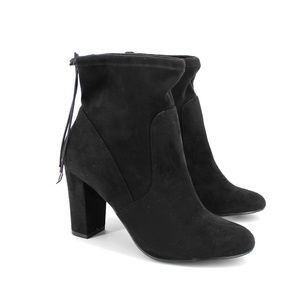 CHINESE LAUNDRY Bailey microsuede bootie - black